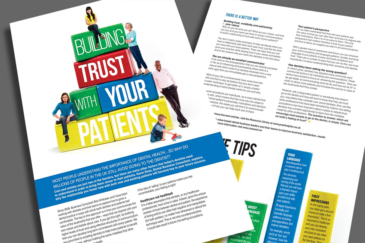 Building Trust with Your Patients - Advice from Kevin at Rose & Co