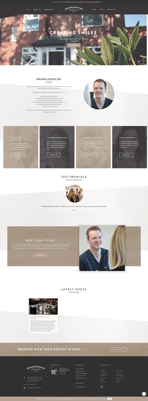 dental website design bury