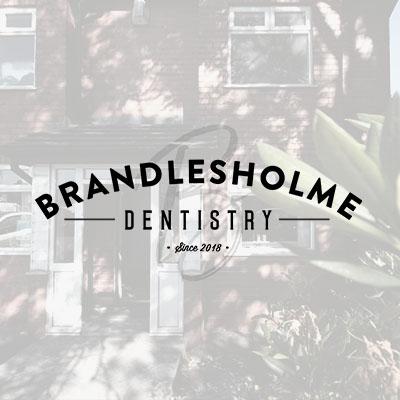 brandlesholme brand logo design
