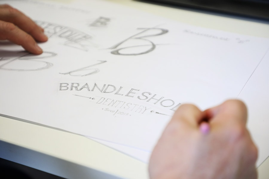 dental brand logo design