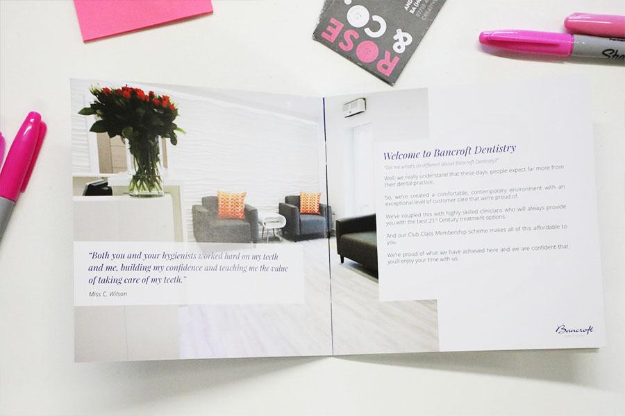 dental leaflet designers