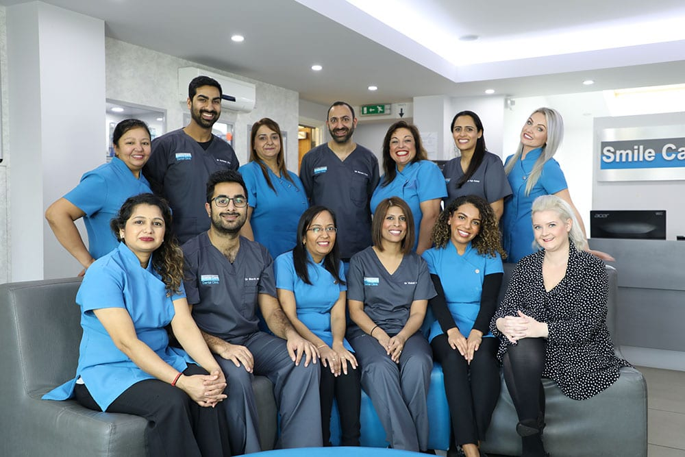 dental team photographs