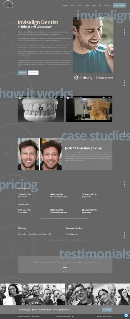 dental website design bristol